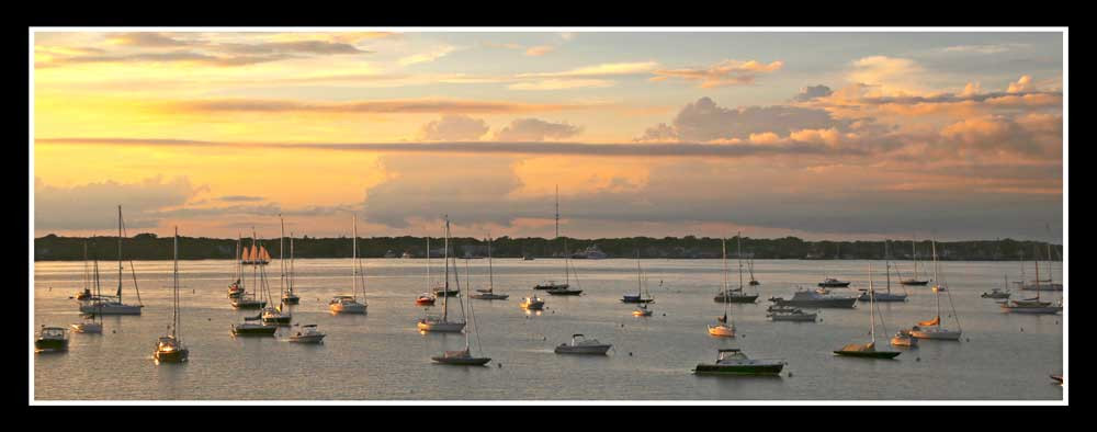 Dering Harbor Sunset
