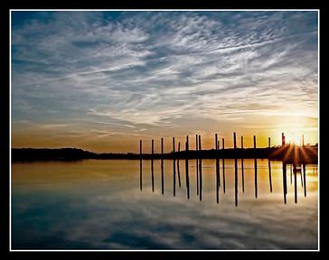 Stony Brook Harbor, Sunset