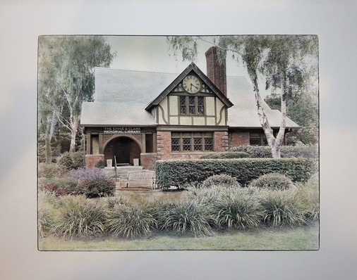 Emma Clark Library, Northward (SOLD)
