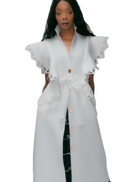 Scuba Coat Dress