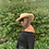 Thumbnail: STRAW HAT W/FACE MASK