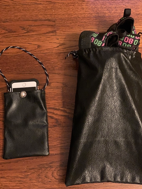 CELL PHONE CASE & SHOE BAG