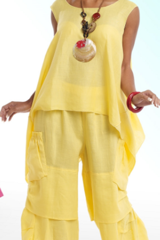 Linen Shopping Suit #3