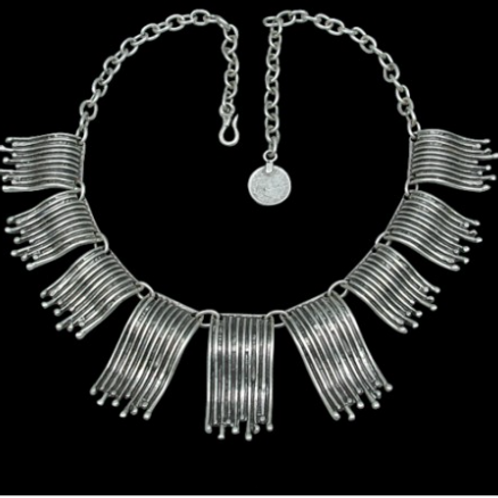 Antique Silver Plated Necklace