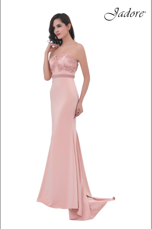 BEADED EMBELLISHED GOWN