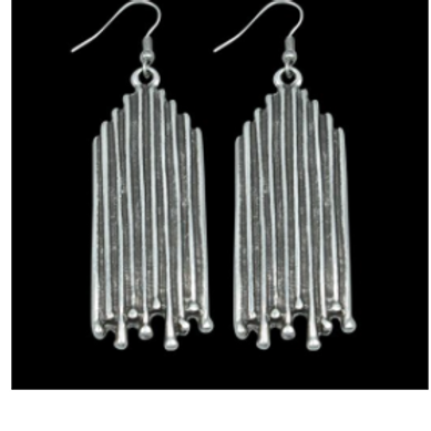 Antique Silver Plated Earrings