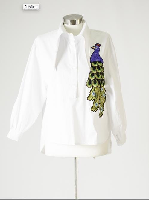 Peacock long sleeve top