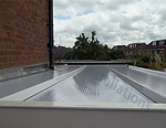 Polycarbonate roof