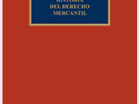 The chef's special: Carlos Petit's new monograph on the history of commercial law