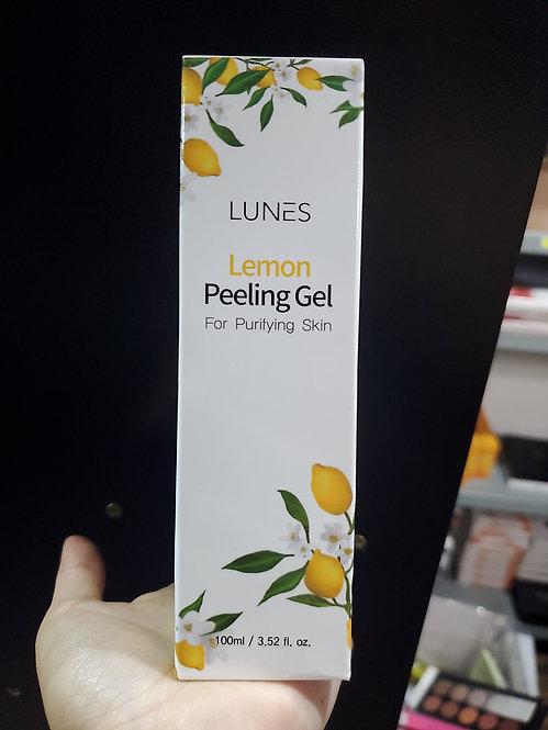 Lunes lemon peeling gel