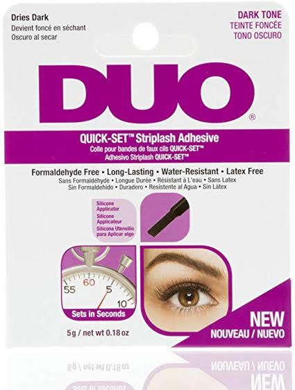 DUO - Quick Set Striplash Adhesive Dark Tone