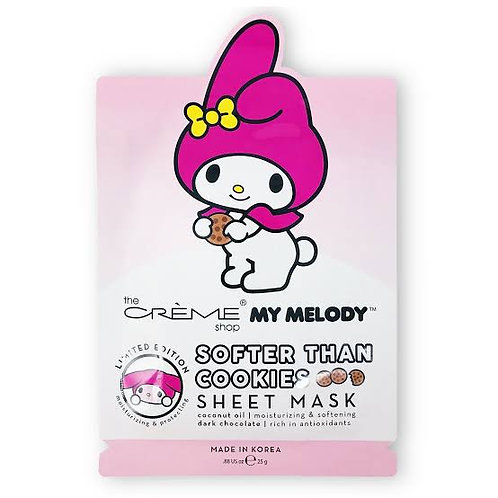 THE CREME SHOP - My Melody Softer Than Cookies Sheet Mask