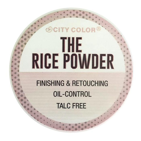 CITY COLOR - The rice powder