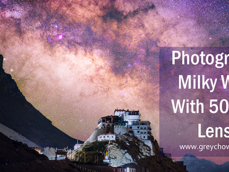 Photograph Milky Way With 50mm Lens