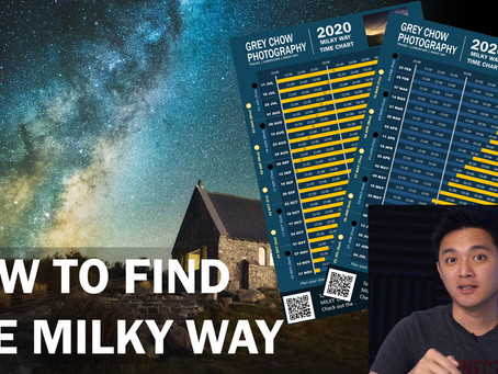 How To Find The Milky Way (Timesheet included)