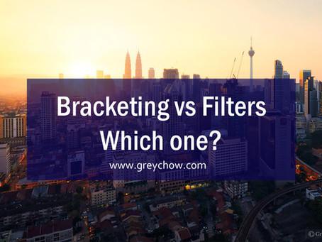 Filters vs Bracketing