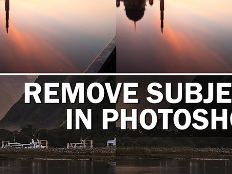 How to remove any unwanted subject from your photo