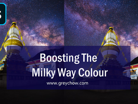 Boosting the Milky Way Colour