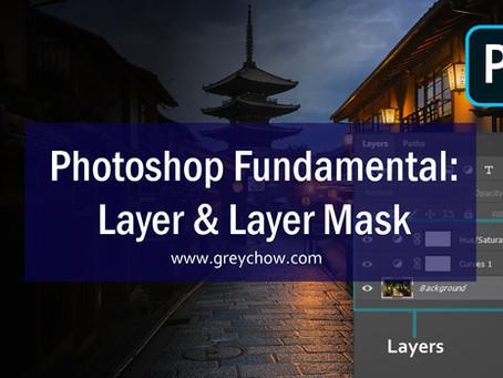 Photoshop Fundamental: Layer & Layer Mask