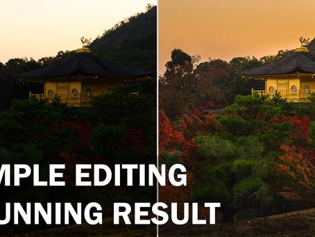 Simple Editing, Stunning Result