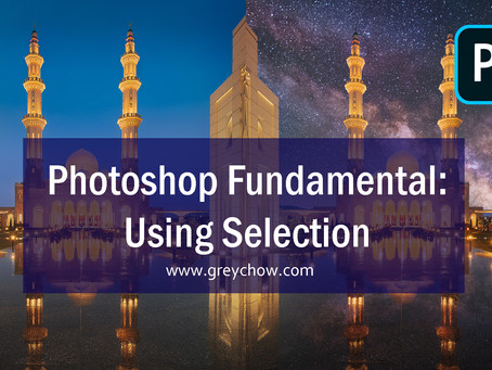 Photoshop Fundamental: Using Selection