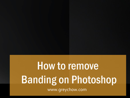 How to remove banding