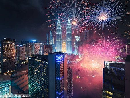 Creative Blending: How To Add Multiple Fireworks Into Single Photo