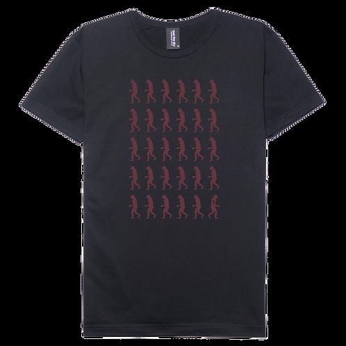 Ape design black color cotton T-shirt