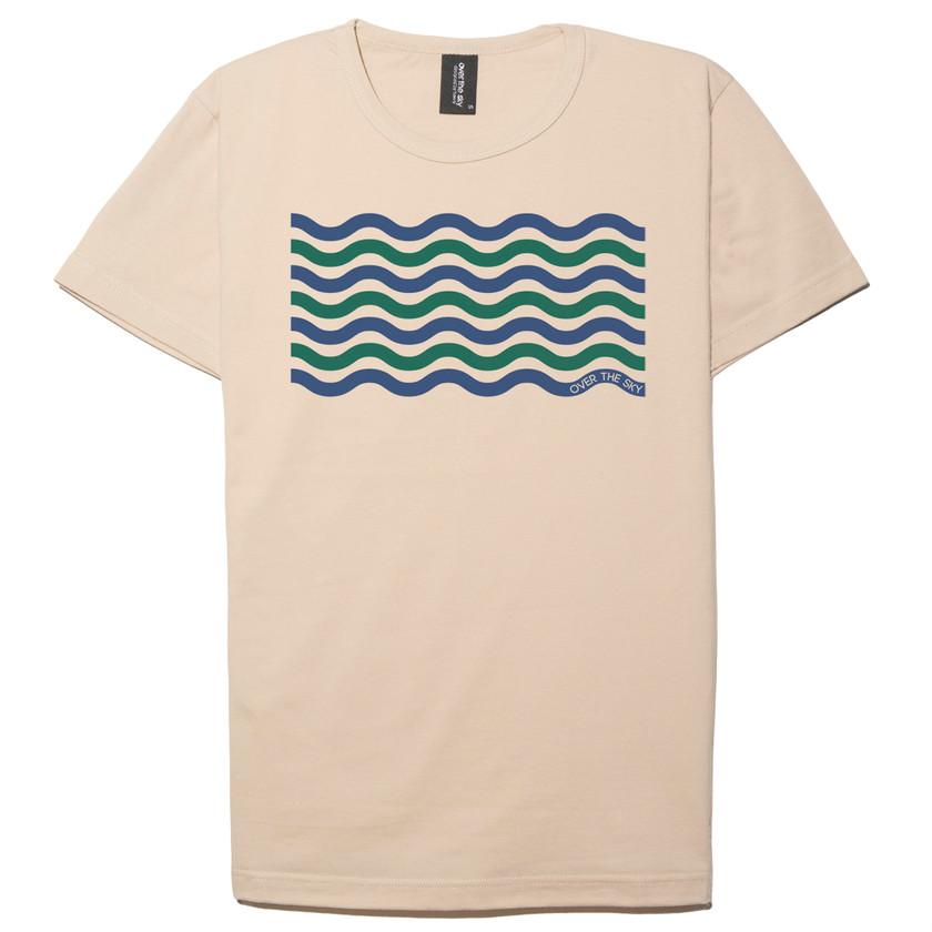 Wave Lines-Cream