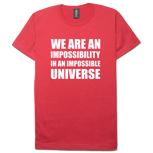 Ray Bradbury design red color cotton T-shirt