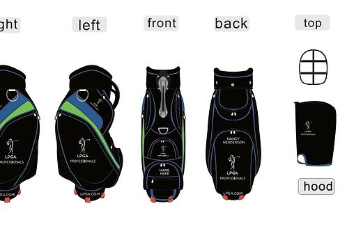 LPGA Professional Tour -Black