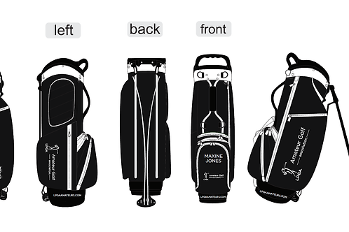 LPGA Amateurs Stand - Black