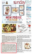 """The Boiler """"Food in unlikely places."""" The Sunday Times Singapore. April 12, 2015"""
