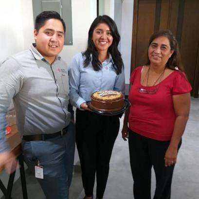 Cumpleaños Antonio Dávila, Gabriela Pérez, María Elena