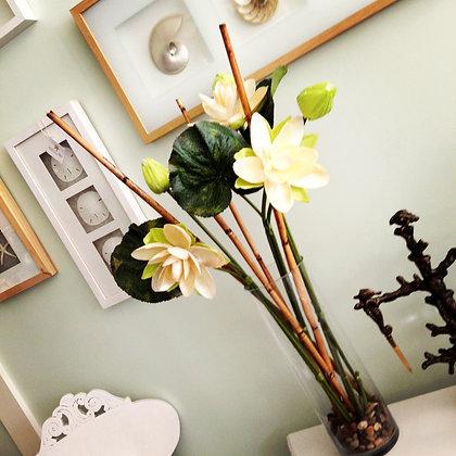 Blooming Seashell Lotus Arrangement