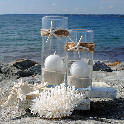 The Beach Star Candle Holder