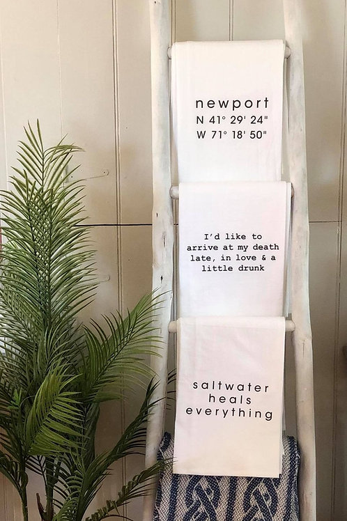 The Saltwater Hand Towel