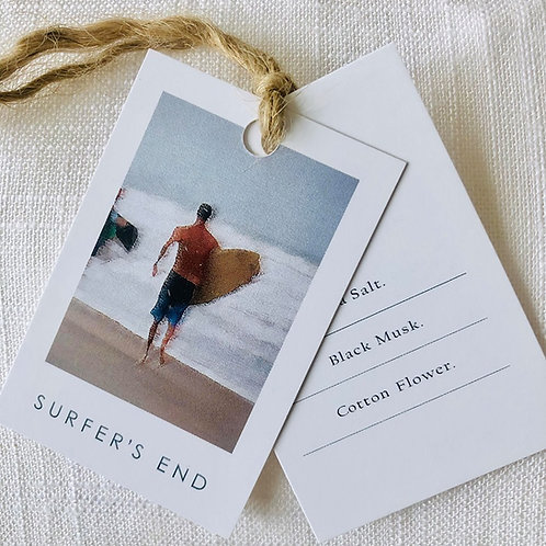 Surfer's End Candle