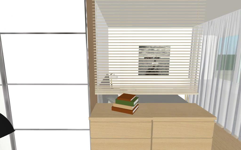Plan Umgestaltung Studio Zürich