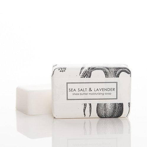 Sea Salt + Lavender Bar Soap