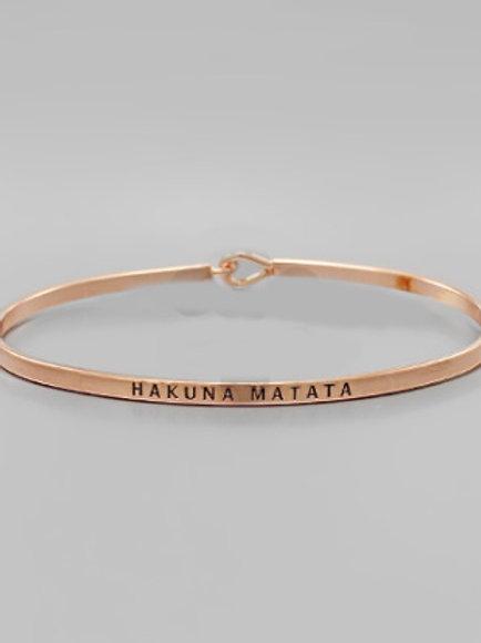 Philosophy Bracelet - Hakuna Matata