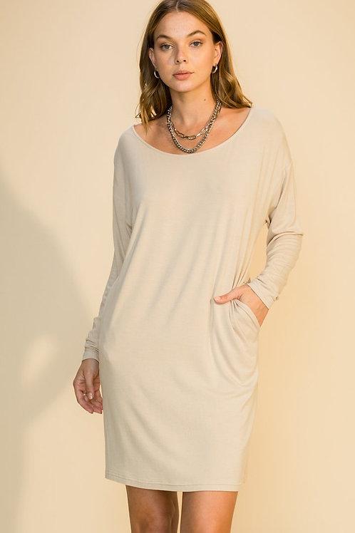 Montauk Lounge Dress -Sand