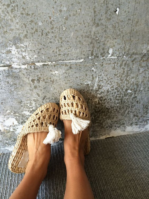 Isla Woven House Slippers