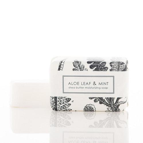Aloe Leaf + Mint Bar Soap