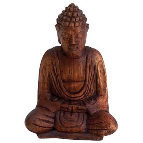 Hand Carved Seated Buddha