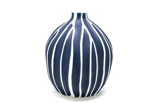 The Andaman Petite Isla Vase - Deep Blue