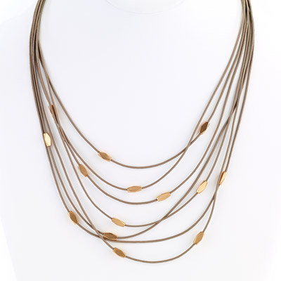 St. Tropez Delicate Layer Necklace Gold