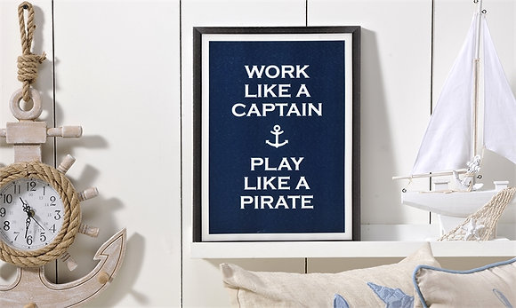 Work Like Captain Canvas