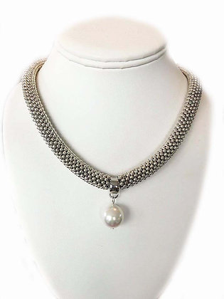 The Cape Cod Mother of Pearl Necklace White Pearl