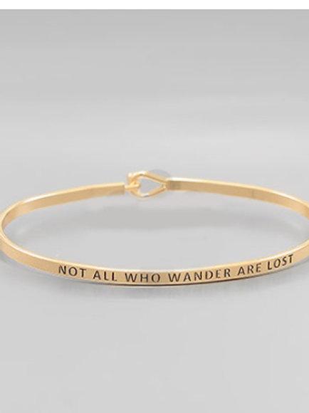 Philosophy Bracelet - Wander